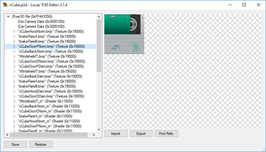 P3D Editor - Donut Stuff